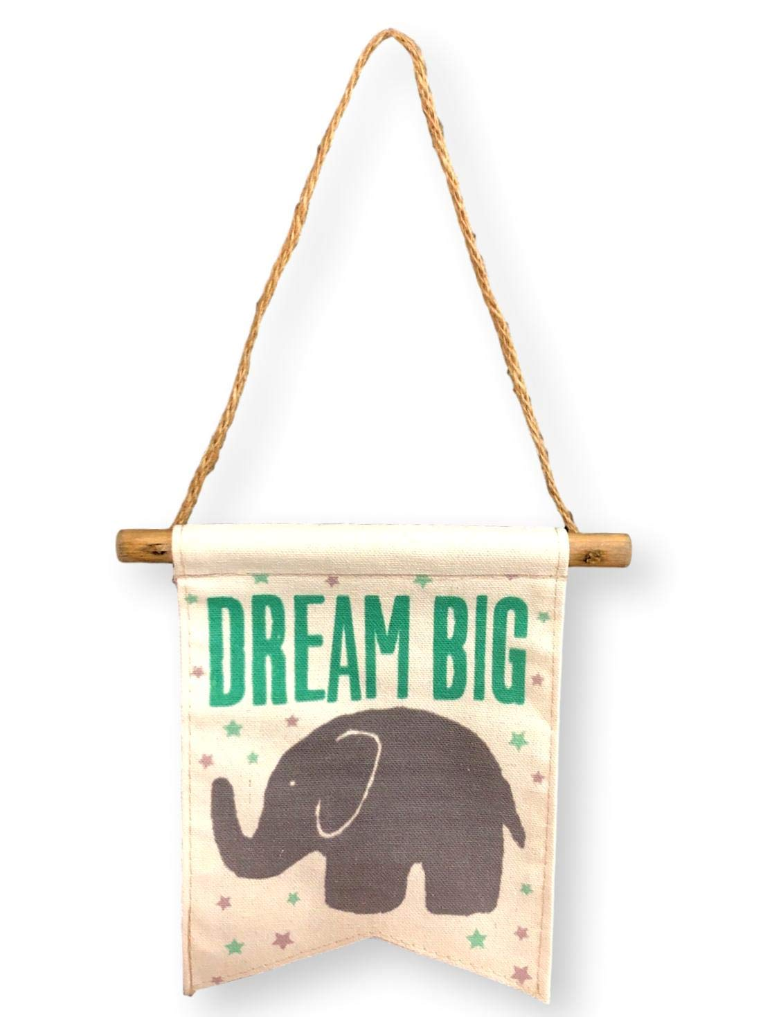 Amazon.com: Pancarta de lona para bebé, diseño de elefante ...