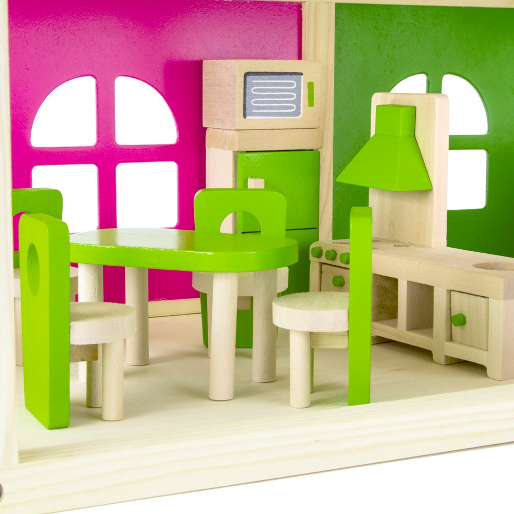 No Rooms Colorful Furniture: Wooden Wonders Eat-In Kitchen And Dining Room Set