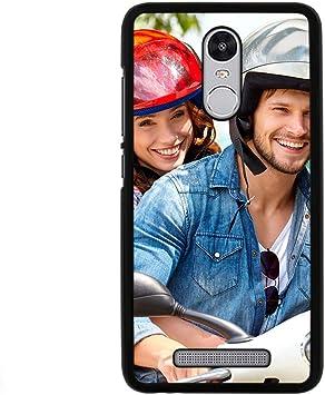 Funda Personalizada rigida Bordes Negro Xiaomi Mi Mi4 Mi5S M2A 3 4C 4i Mi 5 5C