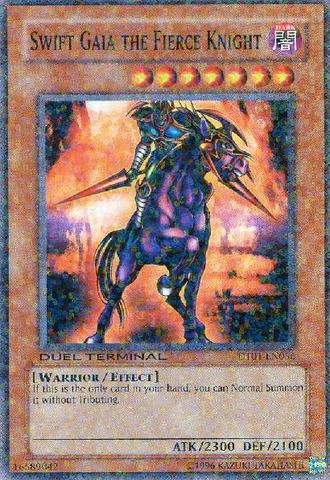 Yu-Gi-Oh! - Swift Gaia the Fierce Knight (DT01-EN056) - Duel Terminal 1 - 1st Edition - Common (Fierce Knight Swift Gaia)
