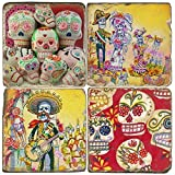Studio Vertu Day of the Dead Coasters