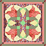 Quilt Kit Easter Blossom Stars/Pre Cut Ready To Sew/EXPEDITED SHIPPING