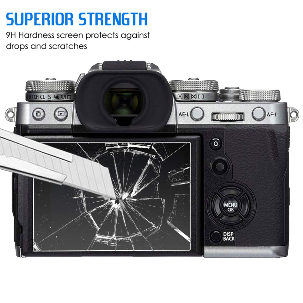 - Crystal Clear Expert Shield *Lifetime Guarantee* The Screen Protector for: Canon G5X MK II 2pcs