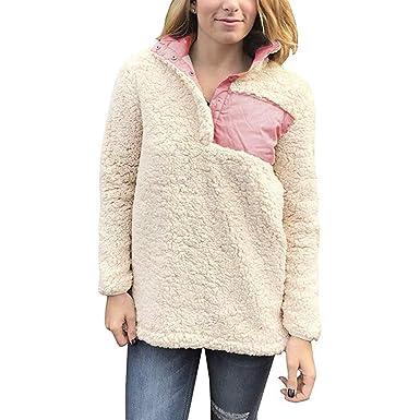 Btruely Herren Chaqueta Suéter para Mujer, Sudadera con Capucha Mujer Manga Larga Abrigo Jersey Mujer Invierno Talla Grande Hoodie Mujer Caliente y ...