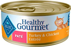 Blue Buffalo Healthy Gourmet Natural Adult Pate Wet Cat Food