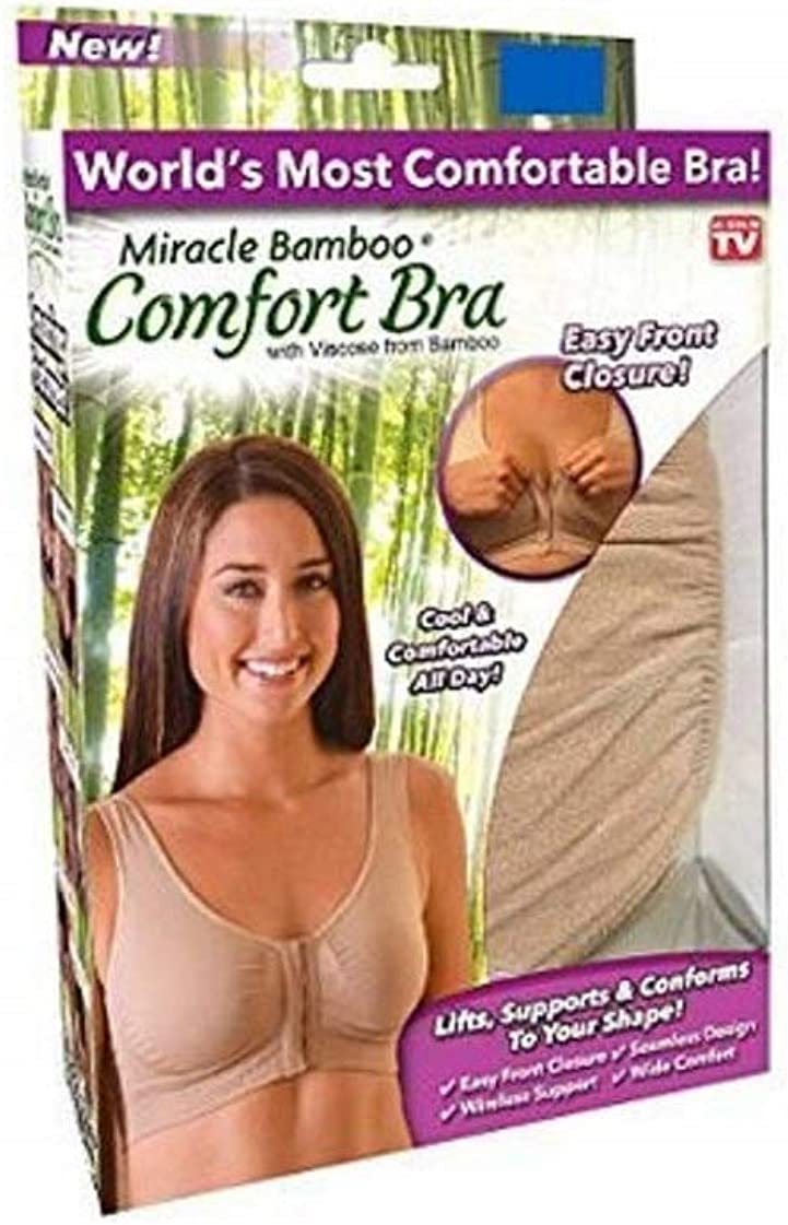 New! Miracle Bamboo Comfort Bra - As Seen On TV - 3XL