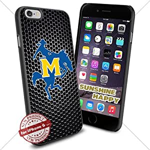 McNeese State Cowboys, Football NCAA Sunshine#2770 Cool iPhone 6 - 4.7 Inch Smartphone Case Cover Collector iphone TPU Rubber Case Black
