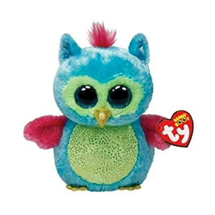 c3a2f410412 Image Unavailable. Image not available for. Color  Ty Beanie Boos Opal - Owl  (Justice Exclusive)