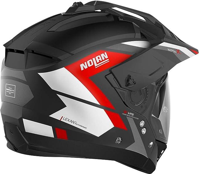 Nolan Herren N70 2 X Grandes Alpes Flat Black M Helmet M Auto