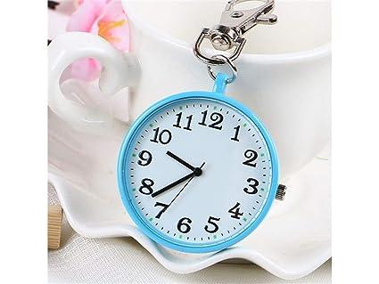 YHUJH Home Reloj de Bolsillo Colgante de aleación Llavero ...