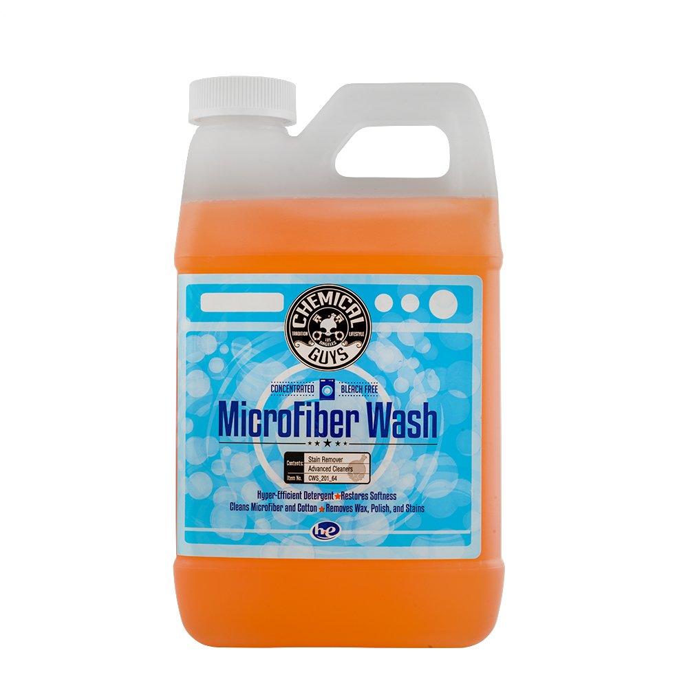 Chemical Guys CWS_201 Orange Microfiber Wash (64 oz), 64. Fluid_Ounces