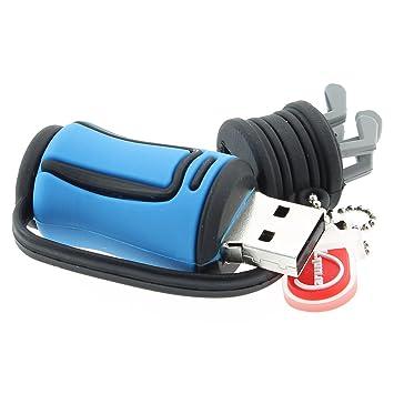 USB Stick Bolsa de golf palo de golf azul azul 8 gb: Amazon ...