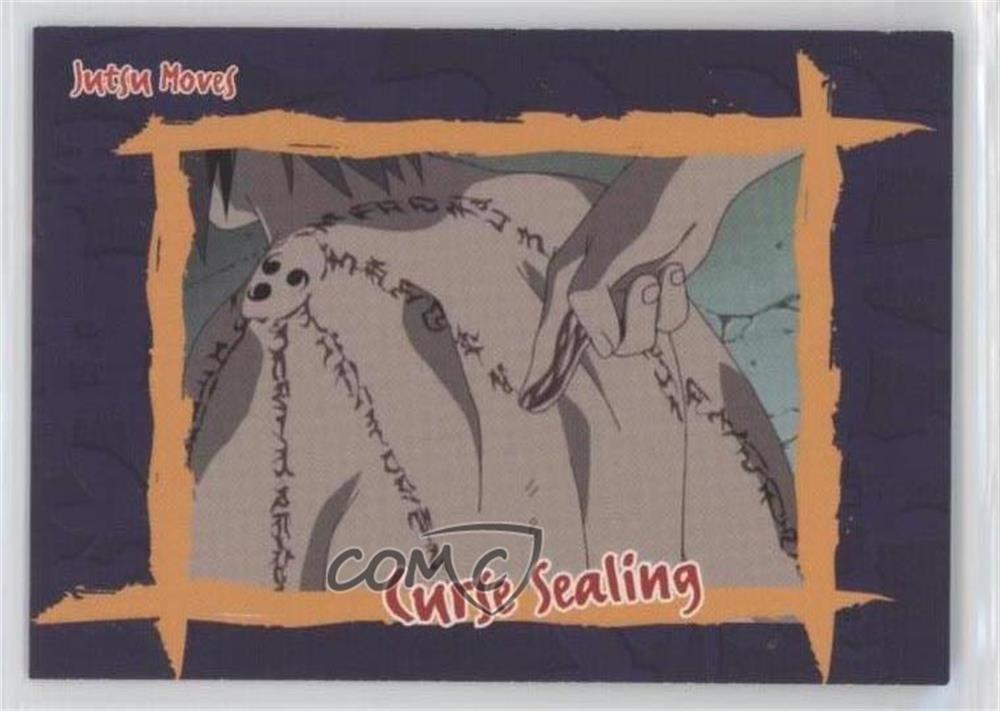 Curse Sealing (Trading Card) 2002 Panini Naruto: Way of the ...
