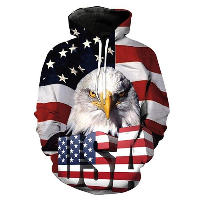 Amazon.com: Chaqueta con capucha para hombre y mujer, diseño ...