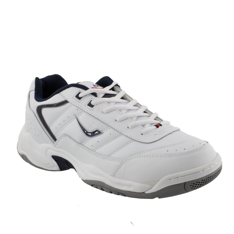 Ascot - Zapatillas de Material Sintético Para Hombre Blanco