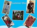 Boys Long Sleeves Button Down Plaid Flannel Shirt
