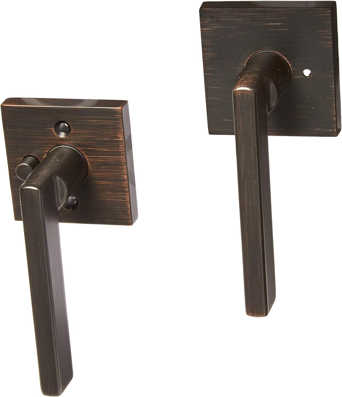 Venetian Bronze Kwikset 91550-006 Halifax Privacy Lever