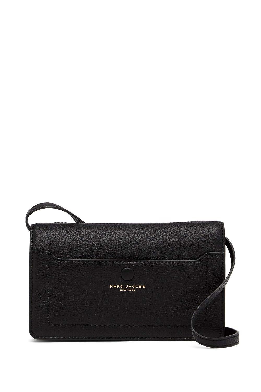 8ec644a27d0 Amazon.com: Marc Jacobs Empire City STR Leather Wallet (Black): Shoes