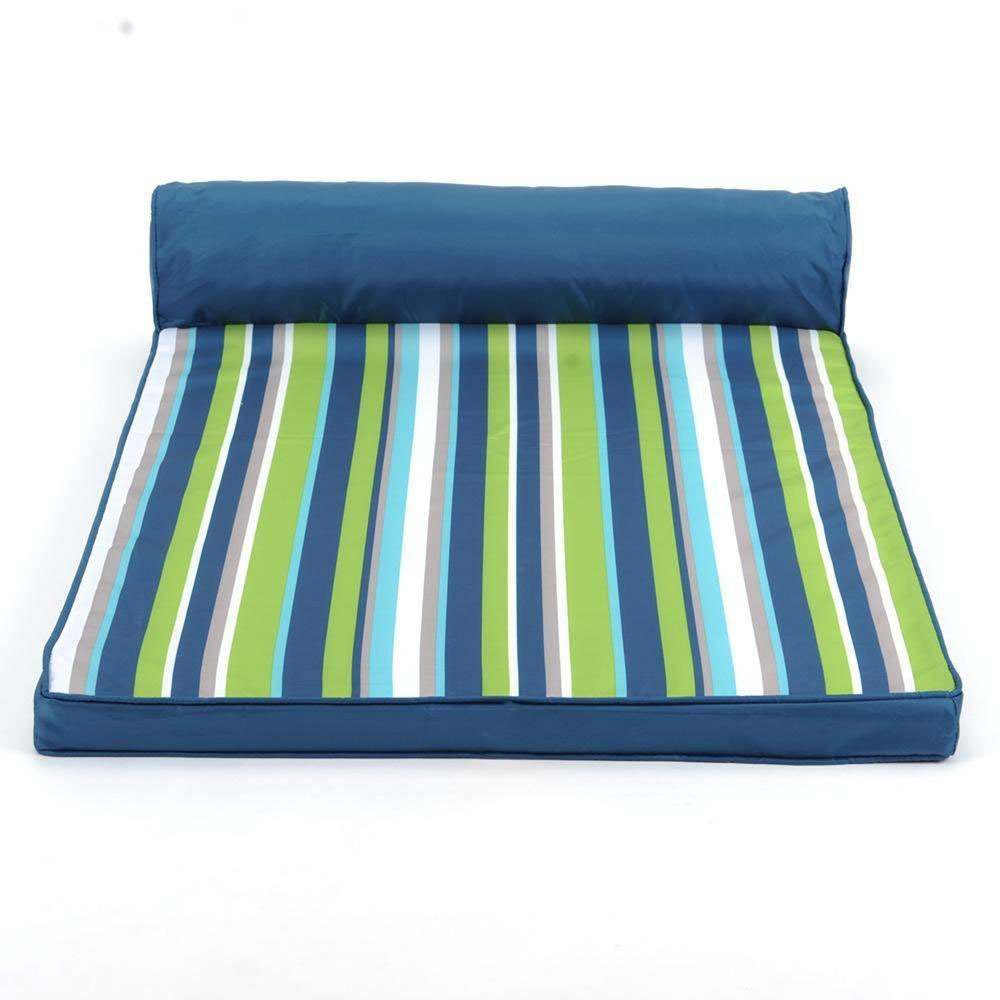 7050cm YunYilian Pet Bolster Dog Bed Comfort Washable Stripes All Beauty by pet Bed Big Dog nest Dog Bed Dog mat Oxford Cloth (Size   70  50cm)