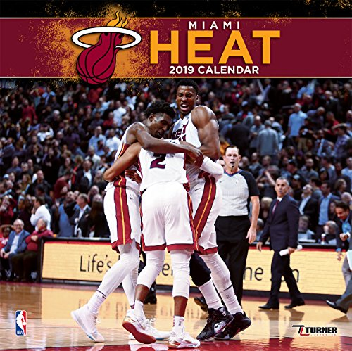 Turner 1 Sport Miami Heat 2019 12X12 Team Wall Calendar Office Wall Calendar (19998011884)