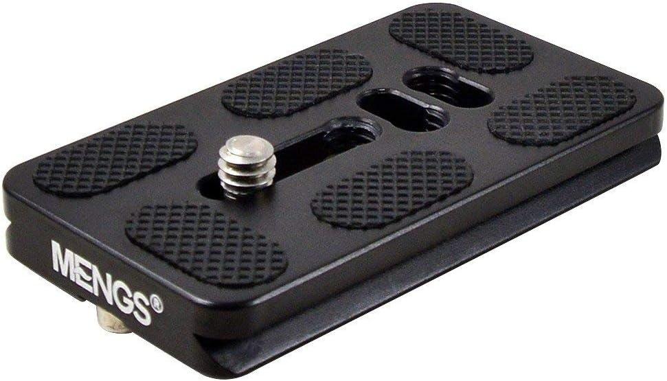 MENGS PU-70 Plateau /à d/émontage Rapide de 70mm avec Un mat/ériau en Alliage daluminium pour appareils Photo Reflex num/ériques Compatible avec la Norme Arca-Swiss