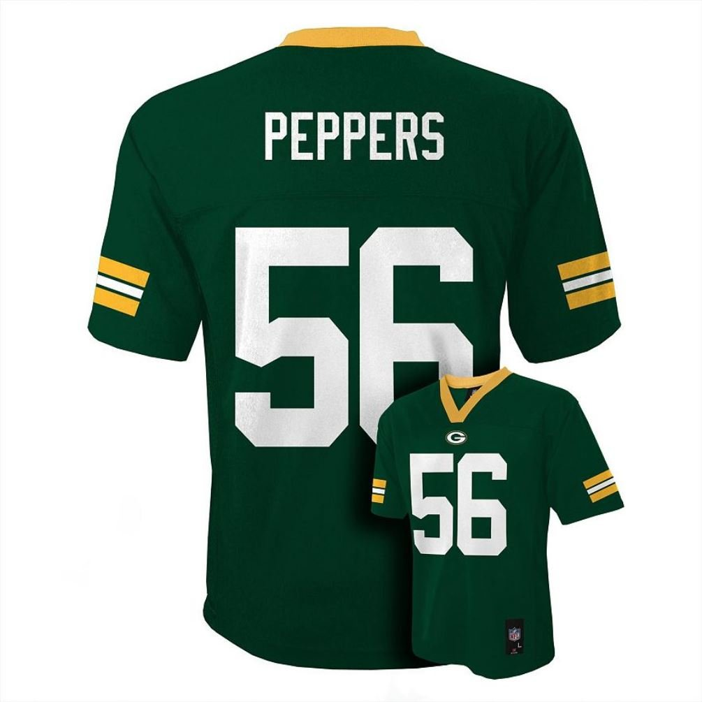 green bay packers jersey colors