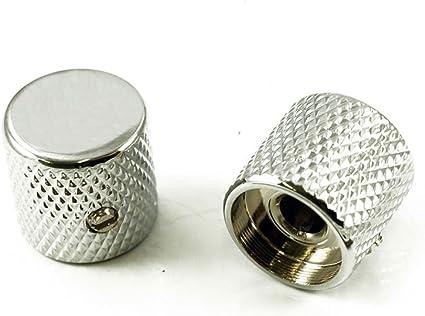 BLACK 2 NEW Barrel Knobs For USA Solid Shaft Pots