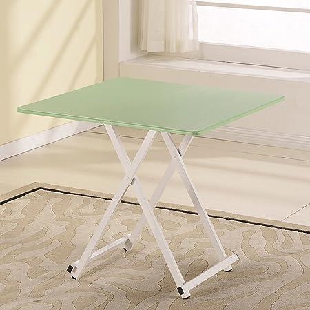 mesa plegable ZZHF Mesa Cuadrada/Mesa portátil/Escritorio para ...