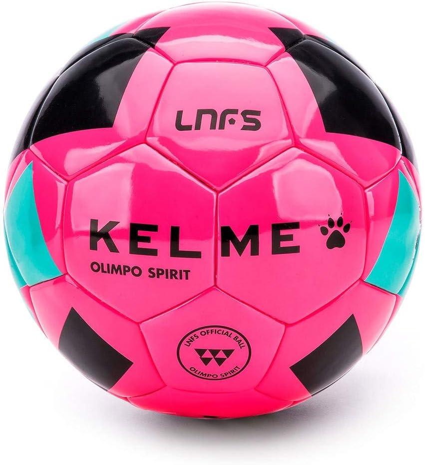 KELME Olimpo Spirit Oficial LNFS 2018-2019, Balón, Rosa flúor ...