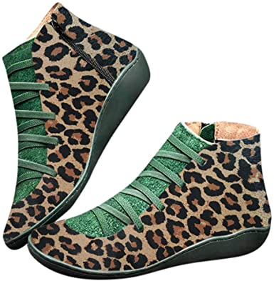Stivaletti alla Caviglia da Donna, alla Moda, Stile retrò