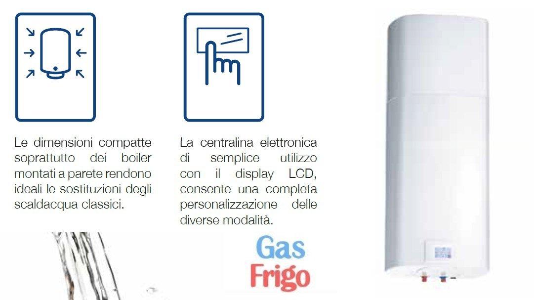 Boiler colgar de Bomba de calor 80 lt ECA Tech * * * Incluye en el precio Gestión de Negocios bancarios térmico 2.0- Valor & # x20AC; 500: Amazon.es: ...