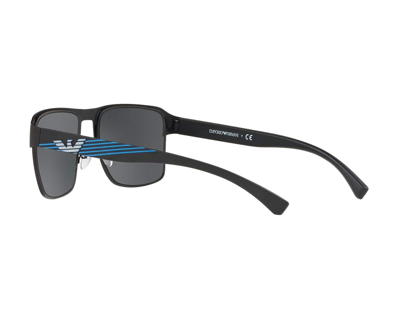 dd5108078 Sunglasses Emporio Armani EA 2066 300155 MATTE BLACK at Amazon Men's  Clothing store: