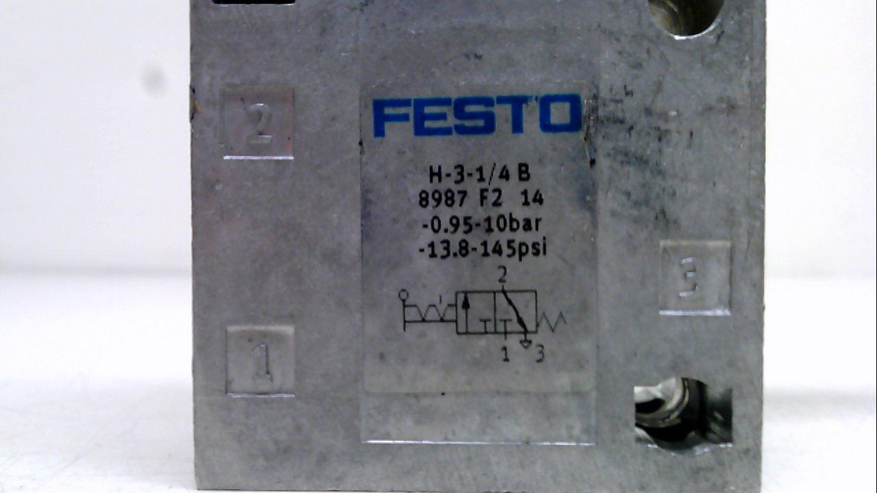 ONE NEW FESTO H-3-1//4-B 8987