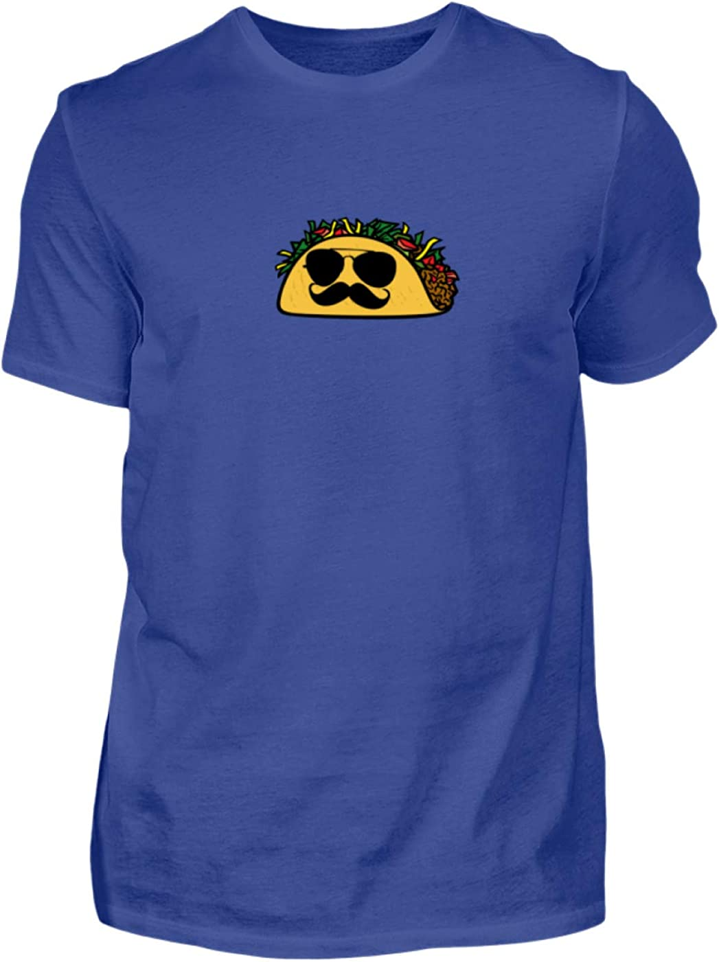 Desconocido Taco Mexicano - Gafas de Sol - Lentes Oscuros - Policía - Bigote - Camisa de Hombre: Amazon.es: Ropa y accesorios