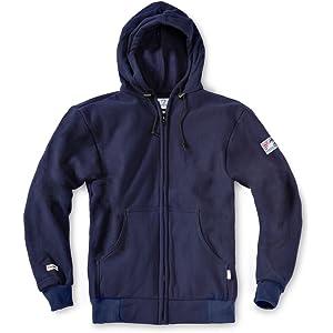 abbd95ae4e4b Amazon.com  Tyndale Pullover FR Hooded Sweatshirt Medium-Long Navy ...