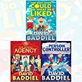 David Baddiel Collection 3 Books Bundle (The Boy Who Could Do What He Liked,The Parent Agency,The Person Controller)