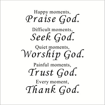 com alasijia wall decal quote praise god bible verses