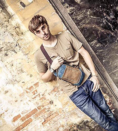 Multifonction Plein Pour Air Sac Bandoulière Casual De Mode Sports À Hommes Épaule bleu AqfYR