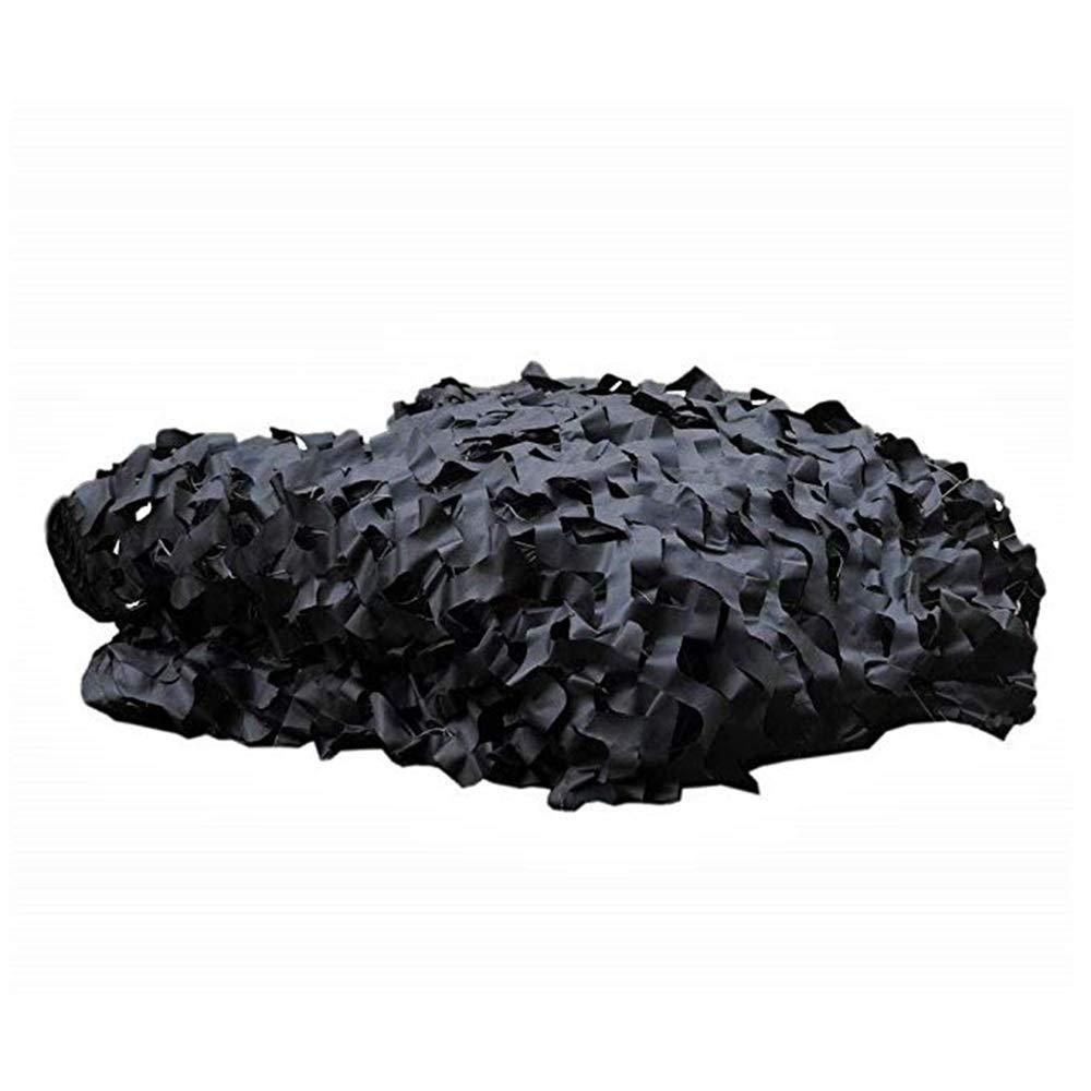Voiles d'ombrage GGjin Filet D'ombre De Camouflage, Tente De Camping Auvent pour Ferme (Noir) (Taille   8x10m)  8x10m