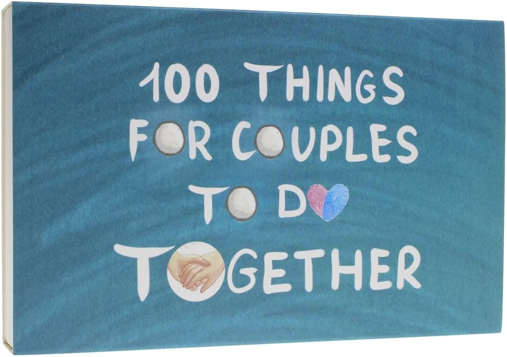 100 Things for Couples to Do Together - A Funny Relationship Game and Date Ideas for Love Journal (Cards)