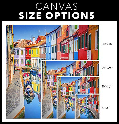 PS-I-Love-Italy-Burano-Canvas-Wall-Art-Italian-Scenic-Modern-Home-Dcor-PicturePrint-for-Living-Room-Dining-Room-Kitchen-Bedroom-Bathroom-Hallway