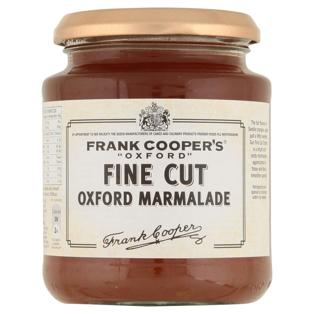 Frank Cooper's Oxford Fine Cut Marmalade (454g) - Pack of 6