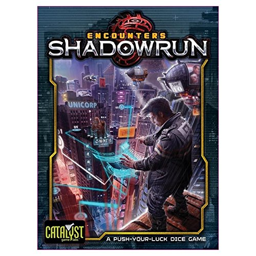 [Shadowrun: Encounters: A Push Your Luck Dice Game] (Luck Dice)