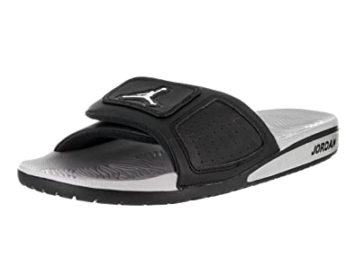 huge selection of 6a157 ae648 Nike Jordan Men s Jordan Hydro III Retro Black Metallic Silver White Sandal  11 Men US  Amazon.co.uk  Shoes   Bags
