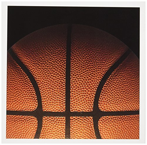 Cool Basketball Texture in partial Shadow - Greeting Cards, 6 x 6 inches, set of 12 (gc_219113_2)