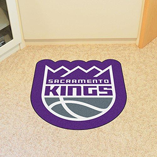 Sacramento Kings Car Mats - Fanmats 21356 NBA - Sacramento Kings Mascot Mat, Team Color, 3' x 4'