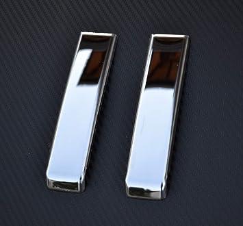 VNVIS 2 Cubiertas de Acero Inoxidable con Espejo Pulido para Manillar de Puerta TGX TGS Camiones