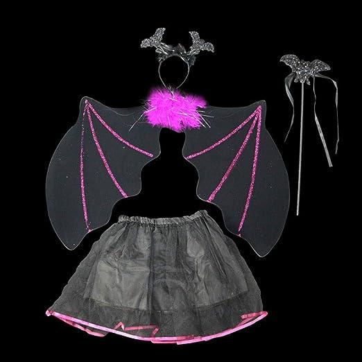 WY Disfraz de ángel de Halloween universal Niños, niñas Hada ...