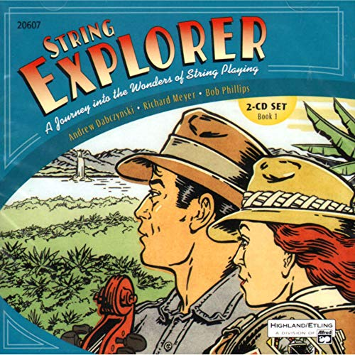 Alfred String Explorer Book 1 Acc. Recordings 2-CD Set ()