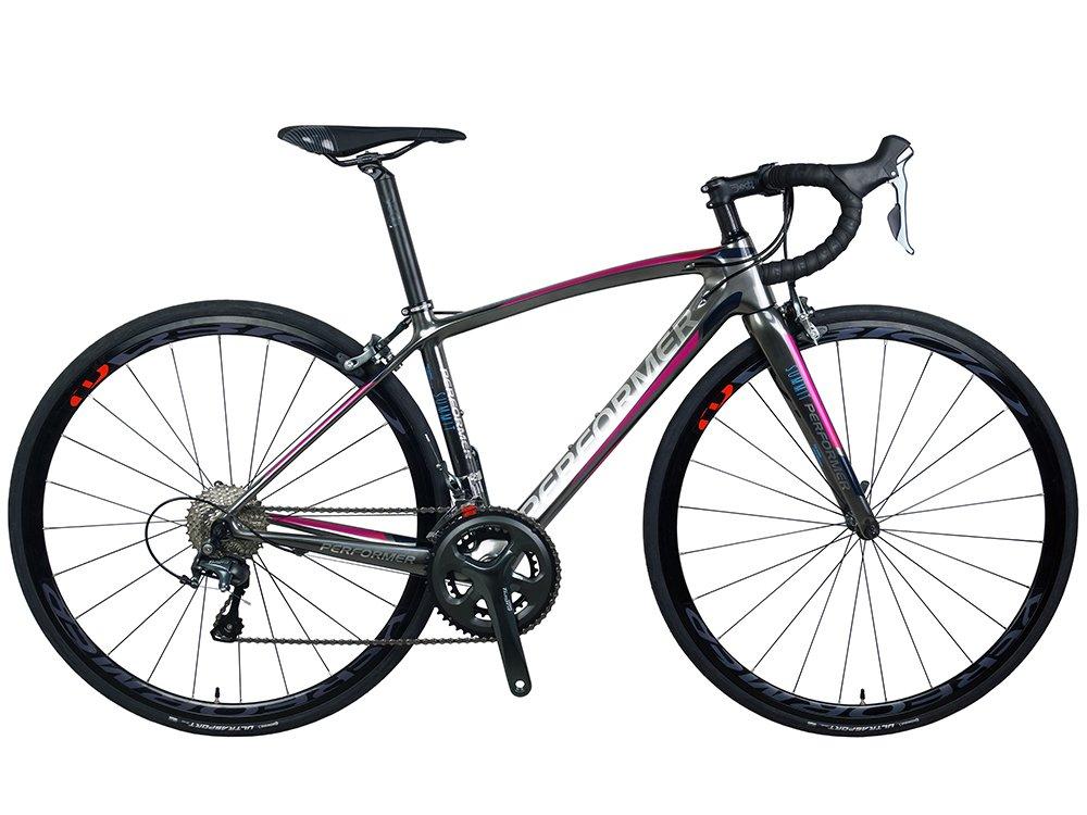 *Pro-Performer プロパフォーマー*〈Summit One〉700C ロード バイク 全カーボン Shimano 105 22speed Road Bike B079Z384MB